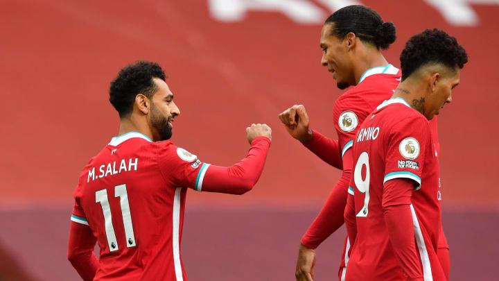 Virgil van Dijk, Mohamed Salah