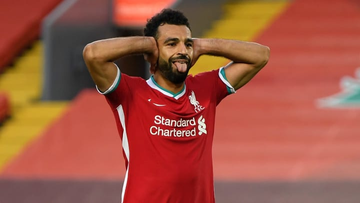Mohamed Salah scored a hat-trick for Liverpool against Leeds