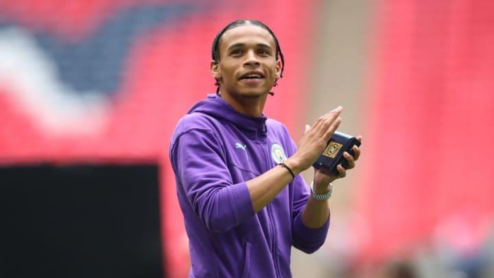 Leroy Sane is set to leave Man City