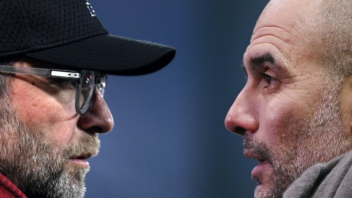 Jurgen Klopp and Pep Guardiola have come head-to-head in two countries