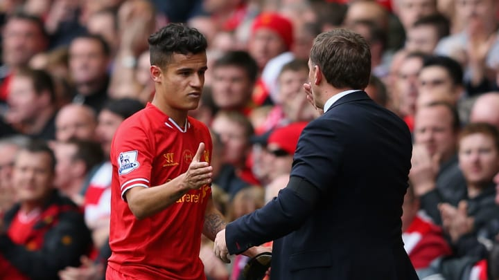 Philippe Coutinho, Brendan Rodgers