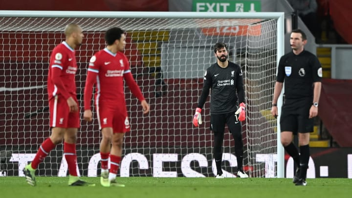 Twitter reacts as Alisson hands Manchester City three points against Liverpool with TWO shocking errors