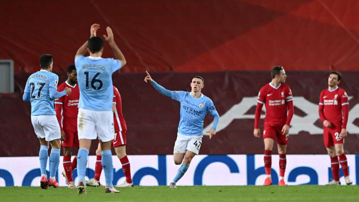Pep Guardiola praises (and criticises) Phil Foden after fine display in 4-1 win over Liverpool
