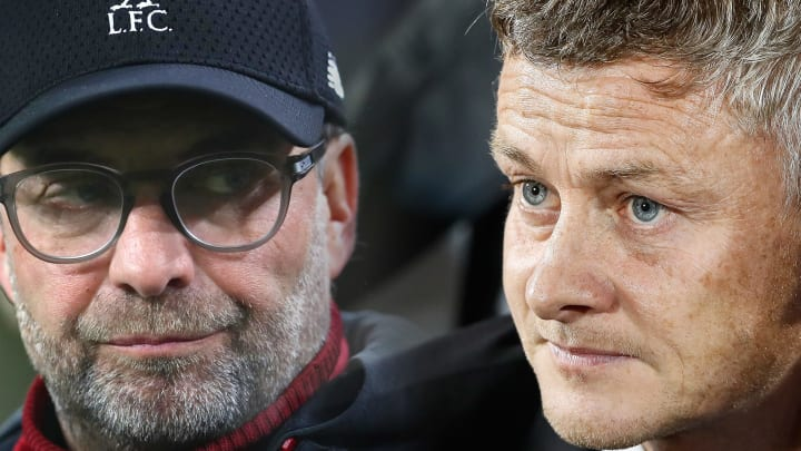 Manchester United and Liverpool go head to head on Sunday