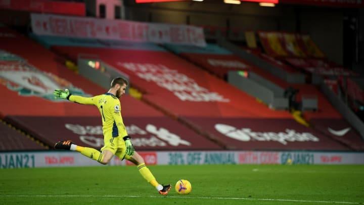 De Gea was rarely called into action, despite Liverpool's dominance