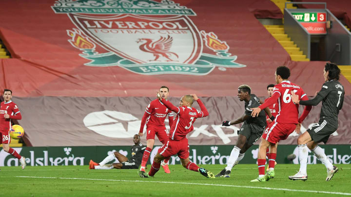 The draw means Liverpool have now failed to score in three consecutive Premier League games