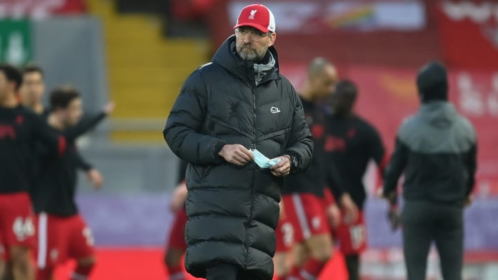 Jurgen Klopp was frustrated with Liverpool's 0-0 draw