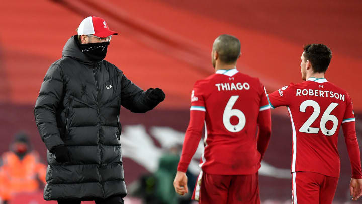 Jurgen Klopp is ruing Liverpool's lack of goals