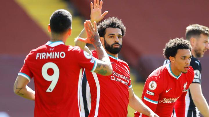 Mohamed Salah, Roberto Firmino