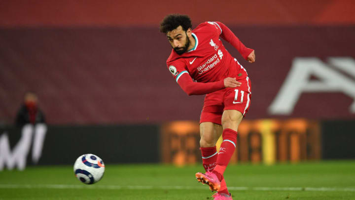 Mohamed Salah Liverpool Crystal Palace Premier League Goleada