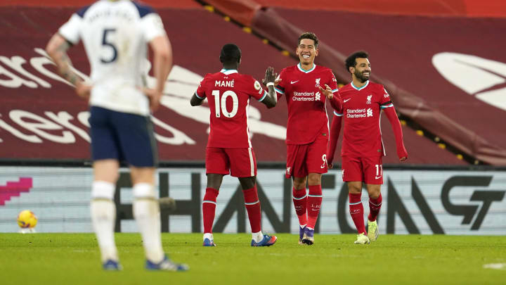 Firmino's signature smile was on show after scoring the winner in Liverpool's last game.