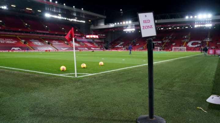 Liverpool Anfield Champions League Real Madrid
