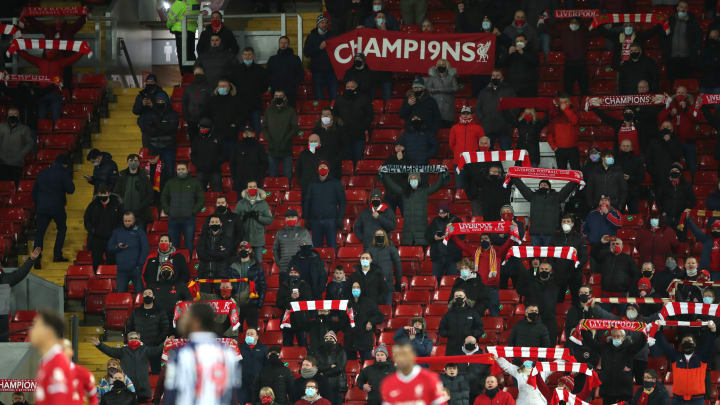 Eine Gruppe Liverpool-Fans sorgte für einen Skandal