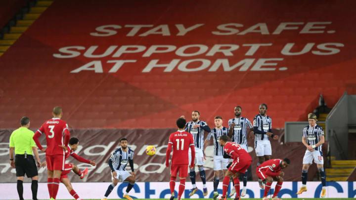 Liverpool v West Bromwich Albion - Liga Premier