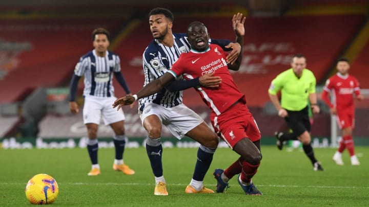 Sadio Mane Darnell Furlong Champions League Liverpool West Bromwich