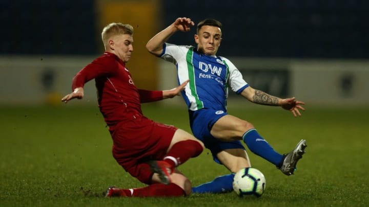 Longstaff in FA Youth Cup action.