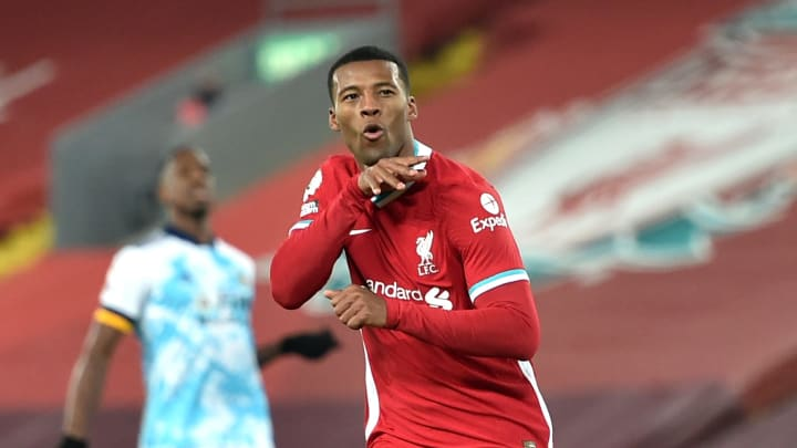 Wijnaldum may be heading for the exit door. Try not to cry.