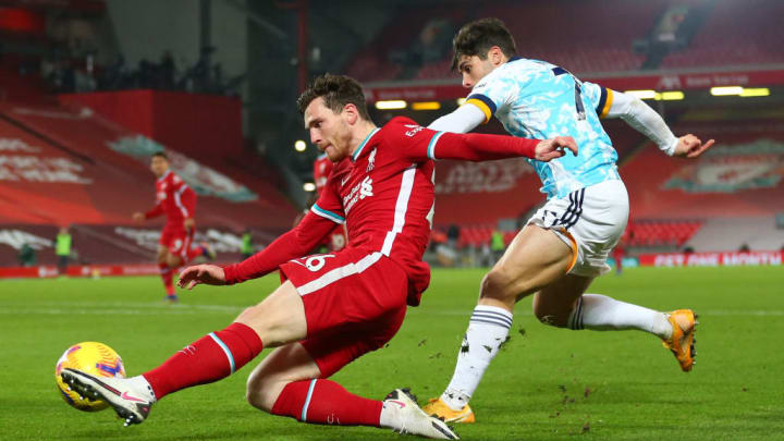 Robertson has been one of Liverpool's best players this season