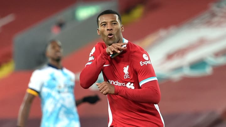 Wijnaldum looks set to depart Anfield when his contract expires