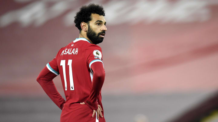 Mohamed Salah continues to be linked with a move away from Liverpool