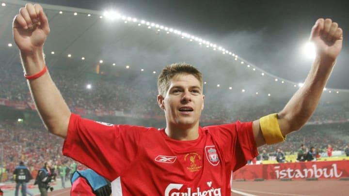 Liverpool's England's captain and midfie