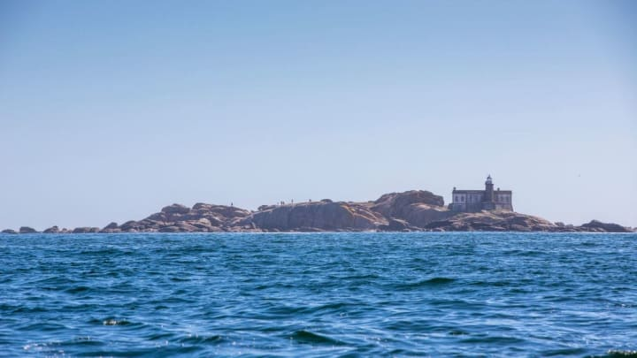 Lobeiras Islands And Mount Pindo In Coruña Province
