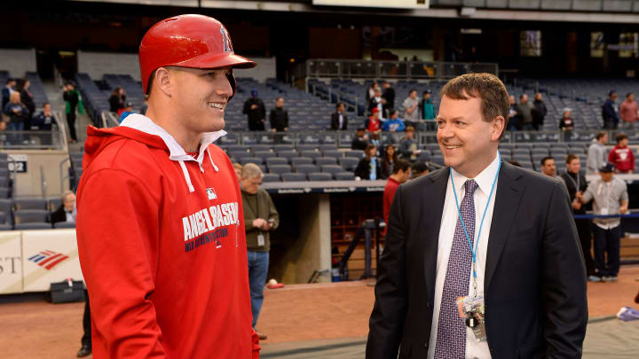 Mike Trout and Buster Olney.