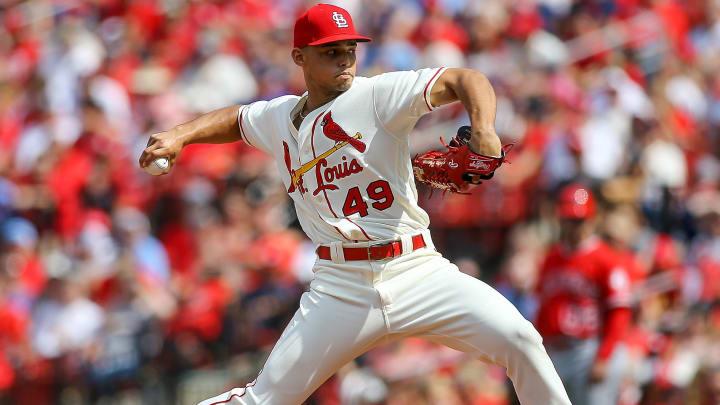 St Louis Cardinals closer Jordan Hicks