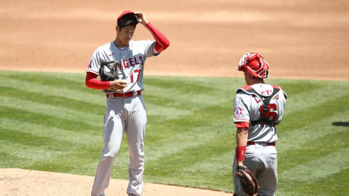 Shoehei Ohtani, Los Angeles Angels v Oakland Athletics