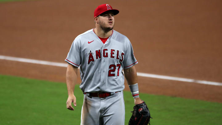 Top Mike Trout fantasy baseball team names for the 2021 MLB season.