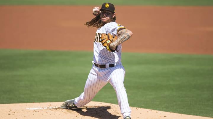 Mike Clevinger, Los Angeles Angels v San Diego Padres