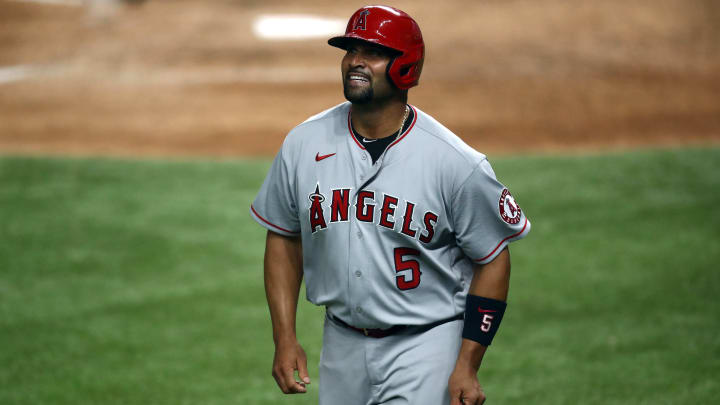 Albert Pujols, Los Angeles Angels v Texas Rangers