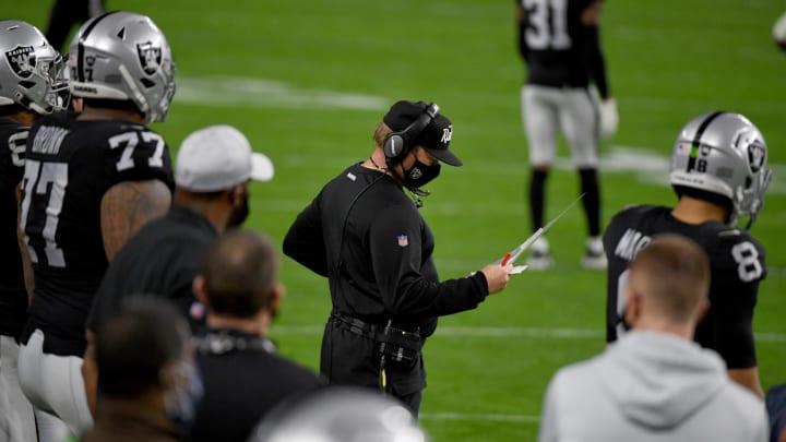 Jon Gruden and the Las Vegas Raiders