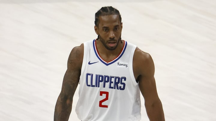 Kawhi Leonard could be a free agent this summer.