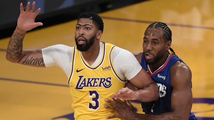 Anthony Davis and Kawhi Leonard face off with major playoff implications on the line.