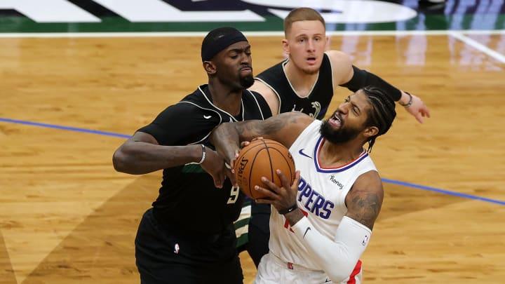 Paul George, Los Angeles Clippers v Milwaukee Bucks