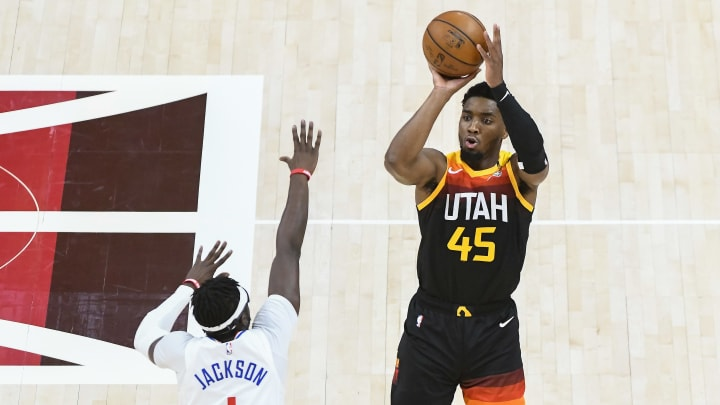 Donovan Mitchell went off in Game 1.
