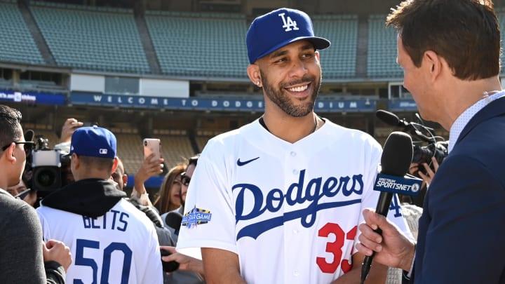 Los Angeles Dodgers left-hander David Price