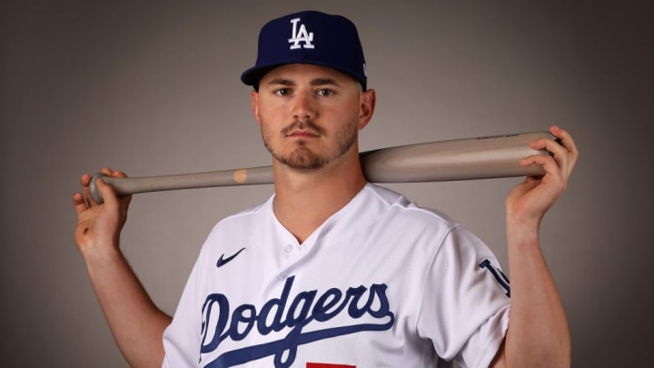 Los Angeles Dodgers infield prospect Zach McKinstry