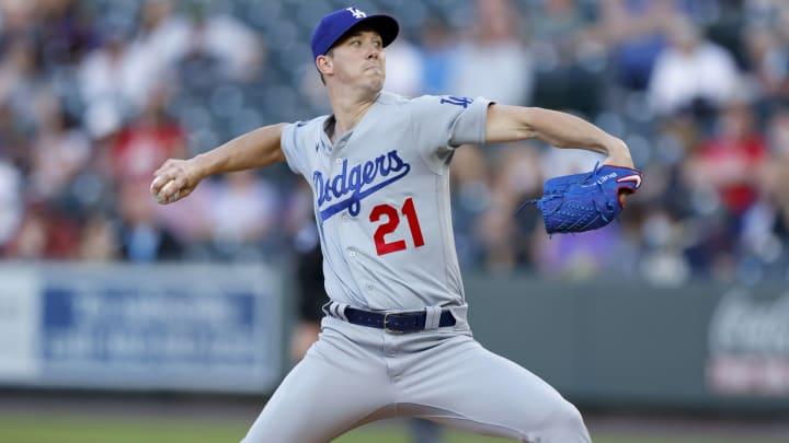 Walker Buehler tiene récord de 1-0 y 2.16 de efectividad con los Dodgers