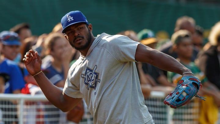 Yasiel Puig debutó en la MLB con los Dodgers de Los Angeles