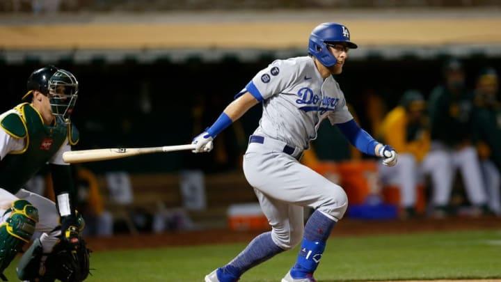 Matt Beaty tuvo una semana destacada en medio de la debacle de los Dodgers