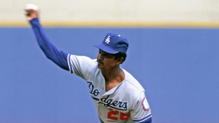 Former Los Angeles Dodgers pitcher Alejandro Pena beat out some top talent in 1984.