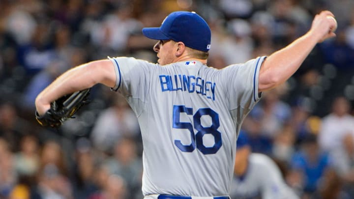 Former Los Angeles Dodgers pitcher Chad Billingsley spent much of his career with the team.