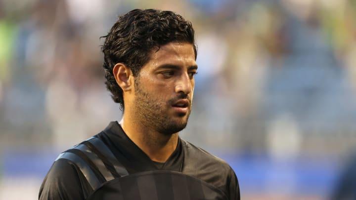 El jugador Carlos Vela.