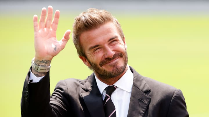 David Beckham is one of three former MLS players being inducted to this year to Premier League Hall of Fram