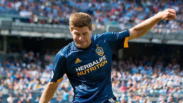 Gerrard con Los Angeles Galaxy