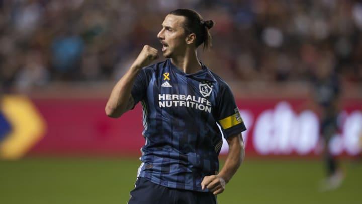 Los Angeles Galaxy contou com Ibrahimovic que foi um dos jogadores mais famosos da história do clube
