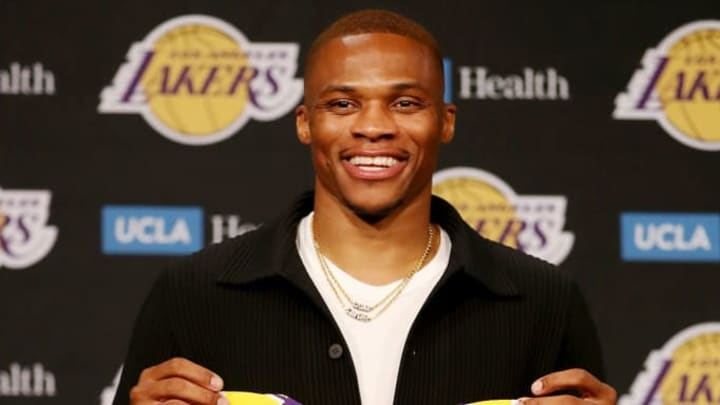 Russell Westbrook came to the Lakers to form a Big Three, being one of the most complete point guards of all time