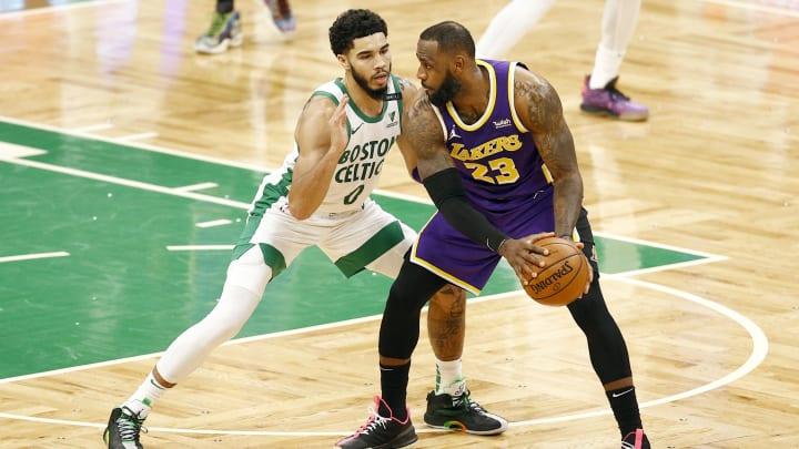 Los Lakers estuvieron cerca de perder el juego ante los Celtics en la última jugada